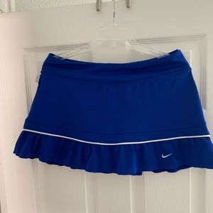 Blue Nike Tennis Skirt